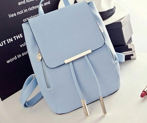 bag, blue, and fashion image