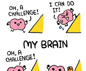 brain and funny image