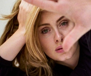 wallpaper and Adele image