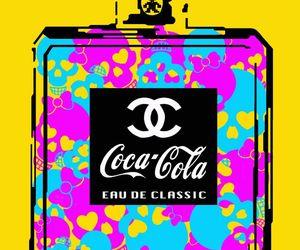 art, digital, and coke image