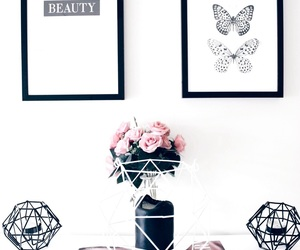 beauty, black, and book image