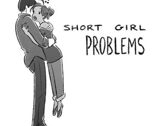 girl, problem, and short image