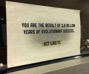 evolution, quotes, and act image