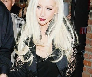 blonde, Queen, and christina aguilera image