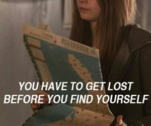 paper towns, quotes, and lost image