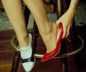 classy, retro, and shoes image