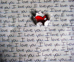 heart, ich liebe dich, and i image