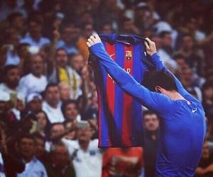 football, messi, and Barca image