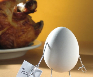 egg, Chicken, and mother image