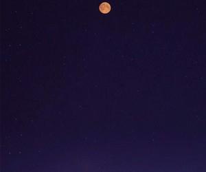 moon, night, and tumblr image