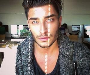 Hot, boy, and eyes image