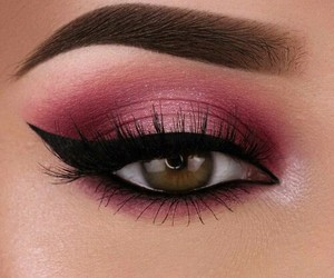make up, eye, and makeup image