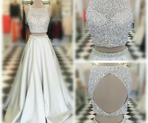 dresses, fashion, and prom dress image