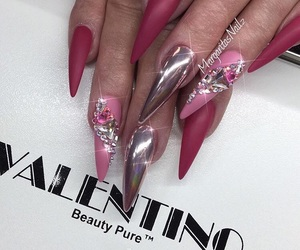 amazing, chrome, and nails image