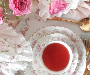food, tea party, and romantic image