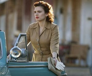 peggy carter, woman, and hayley atwell image
