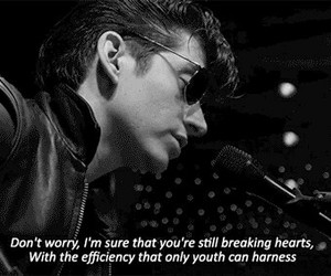 arctic monkeys, grunge, and alex turner image