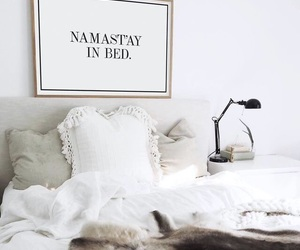 aesthetic, bed, and christmas image