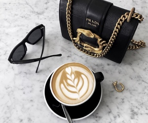 coffee, bag, and luxury image