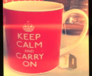 carry on, film, and keep calm and carry on image