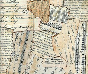 journals, letters, and Collage image