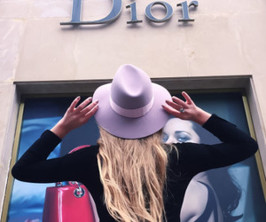 beauty, chic, and dior image