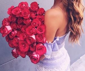 fashion, flowers, and glamorous image