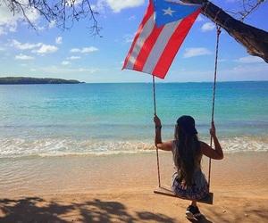 beach, Island, and puerto rico image