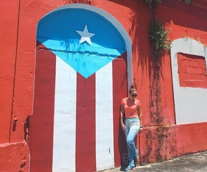 Island, puerto rico, and puerto rican flag image