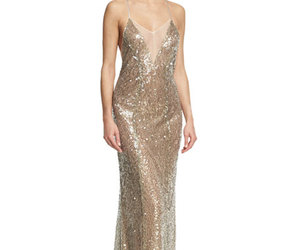 cross back, whishop, and champagne sequins image