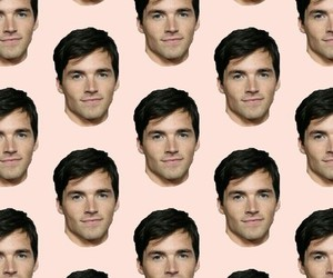 wallpaper, pretty little liars, and ezra fitz image