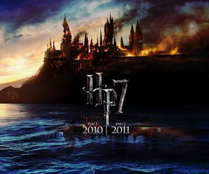 deathly hallows, harry potter, and hp7 image