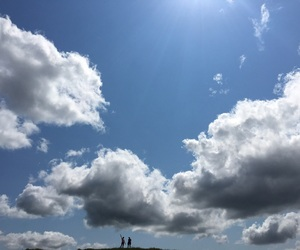 bff, clouds, and sky image