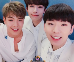 monsta x, hyungwon, and kihyun image