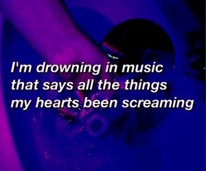 grunge, music, and quotes image
