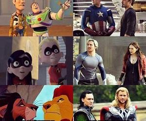 disney, Marvel, and captain america image