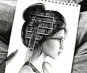 book, art, and drawing image
