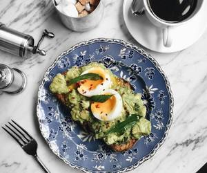 healthy, breakfast, and coffee image
