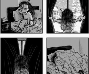 winter, sleep, and funny image
