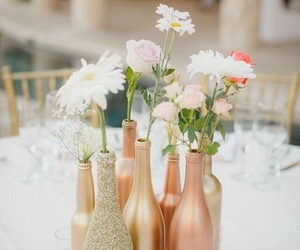 candles, decor, and rose gold image