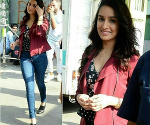 actress, red, and shraddha kapoor image