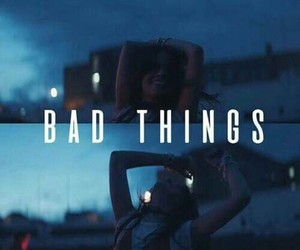 bad things and camila cabello image