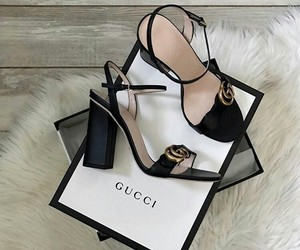 gucci, shoes, and trend image