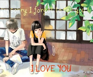 love you, sorry, and meaningul words image