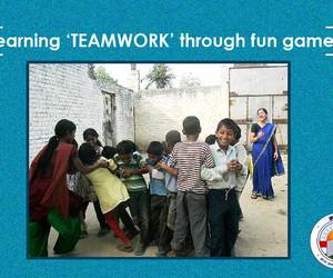 team building, child ngo in india, and deep thinking image