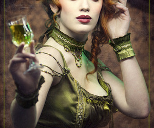 absinthe and green fairy image