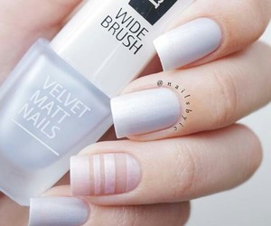 fashion, nail polish, and manicure image