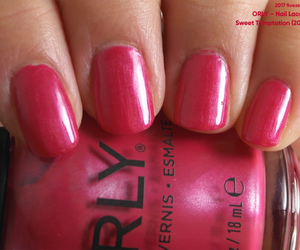 frost, nails, and fuchsia image
