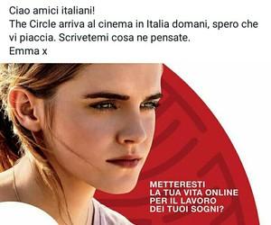 emma watson, facebook, and italian image