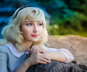 Briar Rose, cosplay, and disney image